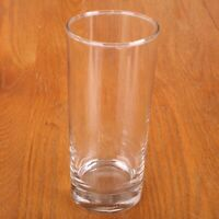 Clear Glass Tumbler Water Glass Cup