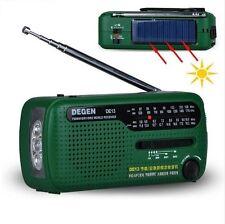 Portable AM/FM/SW Emergency Radio - Dynamo/Solar/ Battery powered Travel Camping