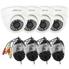 4pcs 800TVL CCTV Camera Home Surveillance Security System IR CUT Night Vision US