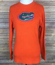Boy's Adidas UF Florida Gators Orange Thermal Shirt Sweater Size L (14-16)