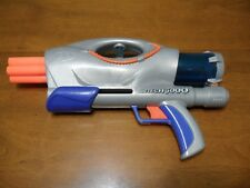 Vintage Nerf Air Tech 3000 Dart Blaster Silver Clean & Tested