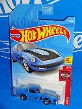 Hot Wheels 2019 Nissan Series #54 Nissan Fairlady Z Blue w/ 5SPs NISMO