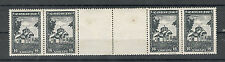 WWII-GERMANY OCC SERBIA-MNH/MLH STRIP WITH LABELS-LOOK QUALITY GUM-1942.
