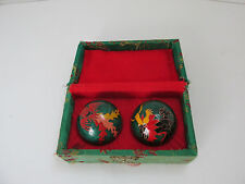 VINTAGE MUSICAL CHIME CHINESE STRESS BALLS