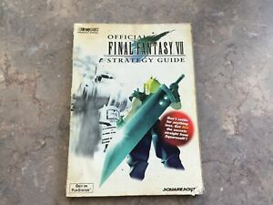 Final fantasy 7 strategy guide