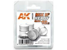 MIX N READY 10ml PAINT BOTTLES MODEL MODELING AK INTERACTIVE ACCESSORY 620