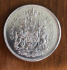 1962 Canada Silver Half Dollar 50 Cents