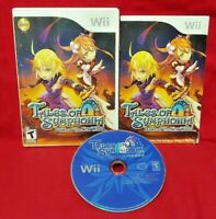 Tales of Symphonia Dawn - Nintendo Wii Wii U Game Complete Works - 1 Owner CIB