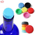 6pcs Colorful Bottle Caps Beer Silicone Cap Soft Corks Reusable Kitchen Tools