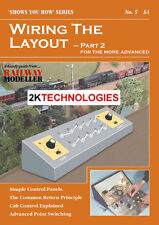 Peco SYH 5 The Railway Modeller Book Wiring The Layout Part 2 16 page + 1st POST