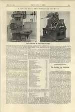 1920 Clifden Baird Cutting Off Machines