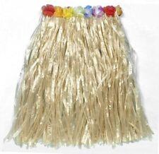 Hawaiian Hula Girl Beach Hawaii Grass Skirt 80cm Length Fancy Dress P7388
