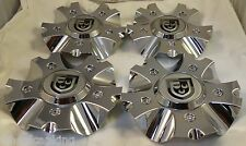 Lexani Chrome Custom Wheel Center Cap Caps Set of 4 # PD-CAPSX-PCA724 NEW!