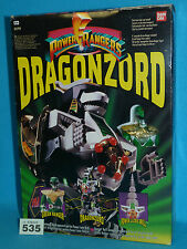 POWER RANGERS MMPR MIGHTY MORPHIN DRAGONZORD MEGAZORD BOXED 100% 535