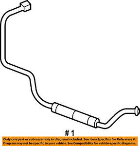 Dodge CHRYSLER OEM 03-09 Ram 3500 5.9L Transmission Oil-Cooler line 52028920AI