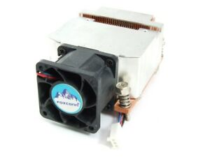 Foxconn 3-Pin CPU Copper Base Heat-Sink Copper Heat Sink Hole Spacing 65mmx56mm