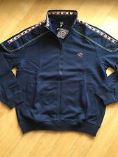 NEW Paul & Shark Yachting Sweater Jacket Blusotto Pullover L BLUE NAVY Cotton