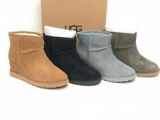 Ugg Australia para mujer Botas Mini Clásico Femme Tacón Con Plataforma Zapatos 1104609 De Gamuza