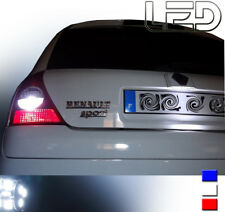 Renault CLIO II Ampoule LED Blanc Eclairage plaque immatriculation anti erreur