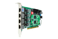 OpenVox BE400P 4 Port ISDN BRI PCI card + EC4008 module - Ethernet (RJ-45)