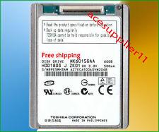 "1.8"" 60GB(MK6015GAA) Hard Drive For Classic Video MacBook A1237 Re MK6028GAL"