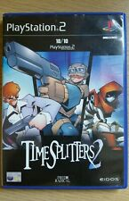 PS2 Game - TIME SPLITTERS 2 - SONY PLAYSTATION 2 complete with instructions