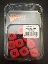 Dados rojos Zombie Pack-proyecto Z-enviado de primera clase-WGA-ZOM-20 - Señor de la guerra