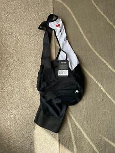 Giordana Mens Frc Pro 5cm Shorter Bib Shorts - Black - M