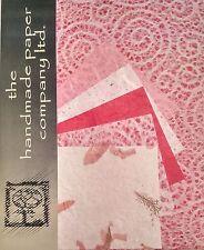 20 FOGLI Mulberry Paper in 2 dimensioni/rottami Book/Decoupage/Arte/Artigianato * lace