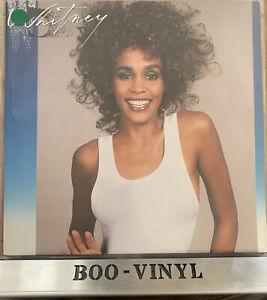 WHITNEY HOUSTON * WHITNEY * ORIGINAL VINYL LP 1987 ARISTA 208 141 EX / EX