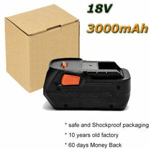 Battery for AEG L1815R L1830R B1814G B1817G BST18 BST18X 18V 3000mAh