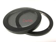 """(2) 4"""" Inch  Mesh Metal Speaker Grilles :: Subwoofer Protection SBM-4"""