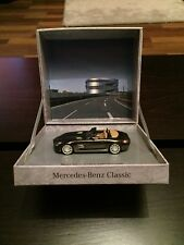 RARE MERCEDES SLS AMG ROADSTER V8 6.3 SEPANG BROWN 1:43 SCHUCO (DEALER MODEL)