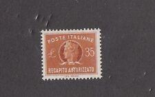 Italie 1965 Livraison Agréé 14 MNH