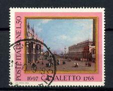 ITALIA 1968 SG # 1230 Canaletto dipinto USATO #A 40342