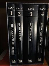 Schreibtisch Bibliothek von Readers Digest, Sammlung 4 Bände, Top-Zustand
