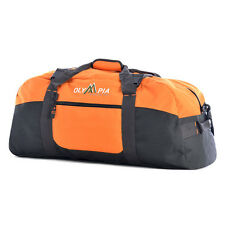 "Olympia Orange Large 30"" Sports Duffel Bag"