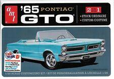 AMT 1191m 1/25 1965 Pontiac GTO 2t Plastic Model Kit
