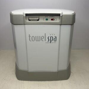 Brookstone Towel Spa Warmer Heater Blanket TSK-5201MA Innovaton Direct TESTED