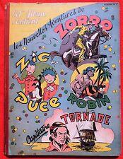ZORRO Album n°7 - n°153 à 169 - 1949. bel état, coiffe haute abîmée