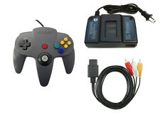 N64 Parts Bundle Controller Power Adapter And AV Cable By Mars Devices 7Z