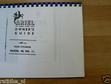 A0201 ARIEL---OWNERS GUIDE---1000cc FOUR CYLINDER 4G MK 2-PHOTOCOPY