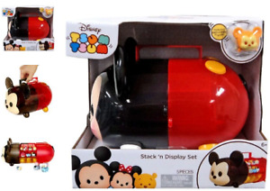 NEW! DISNEY TSUM TSUM MICKEY MOUSE STACK 'N DISPLAY SET INCLUDE EXCLUSIVE FIGURE