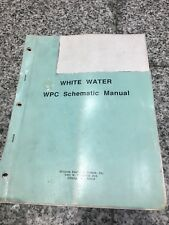 White water Wpc schematic manual pinball machine williams