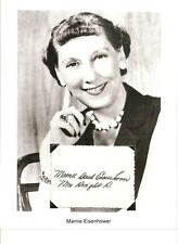 Mamie Eisenhower Autograph First Lady Ike Dwight Mamie's million dollar fudge #2