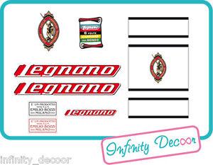 Kit stickers adesivi per bici vintage LEGNANO - Legnano bici