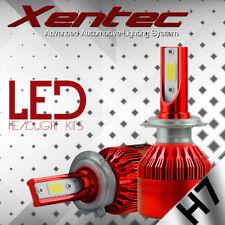 XENTEC Car 120W 12000LM KIT H7 LED Conversion Headlight Bulb High Low Beam Light