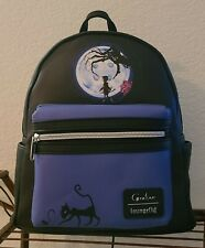 NWT Loungefly Coraline Button Moon Mini Backpack