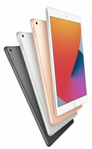 "NEU Apple iPad 8th Gen 2020 10.2"" 32gb, 128gb WiFi-spacegrau, Silber & Gold"