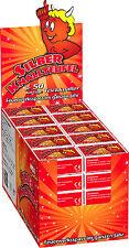 Silber Knallteufel / Knallerbsen 50 Schachteln (1 Display) Kinderfeuerwerk
